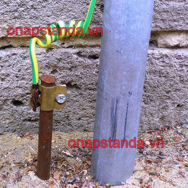 Nối đất an toàn thiết bị điện