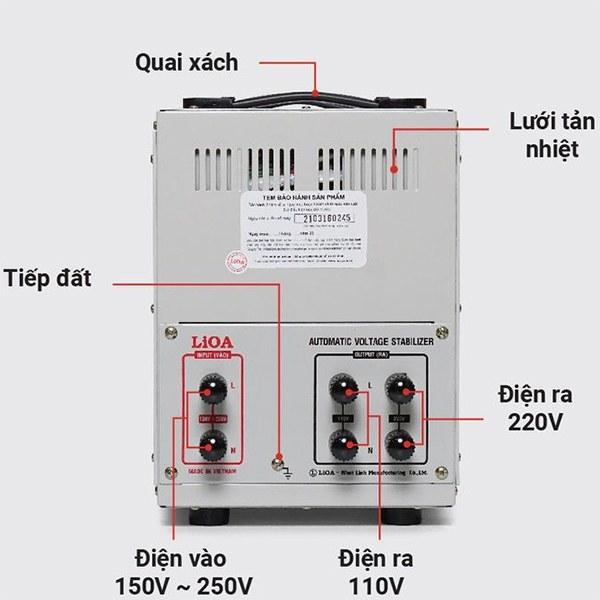 Cách lắp đặt ổn áp LiOA SH-10000 II