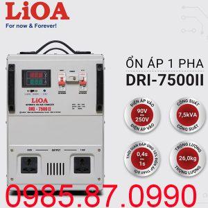 Ổn áp LiOA 7.5KVA dải 90