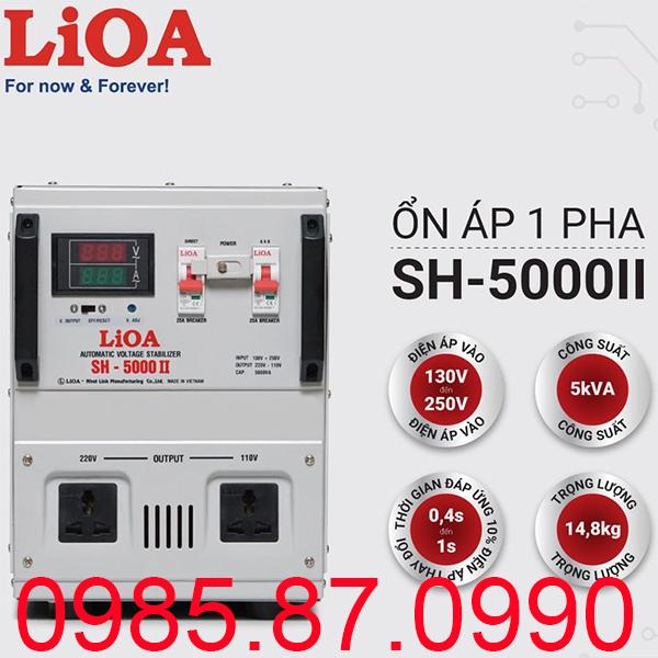Ổn áp LiOA SH-5000 II
