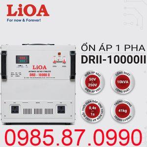 Ổn áp LiOA 10KVA dải 50V