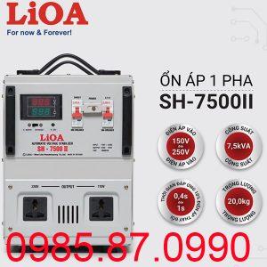 Ổn áp LiOA SH-7500 II