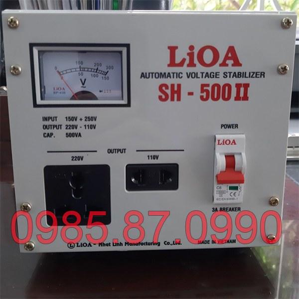Ổn áp LiOA 0,5KVA SH-500II