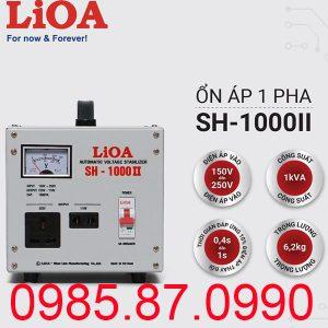Ổn áp LiOA 1p SH-1KVA II SH-1000II